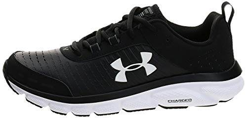 Under Armour Women's Charged Assert 8 Limited Edition Running Shoe, Black (001)/White, 10