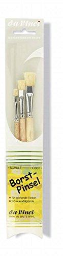 Pinselset 3er Da Vinci 3 Borstenpinsel 4204