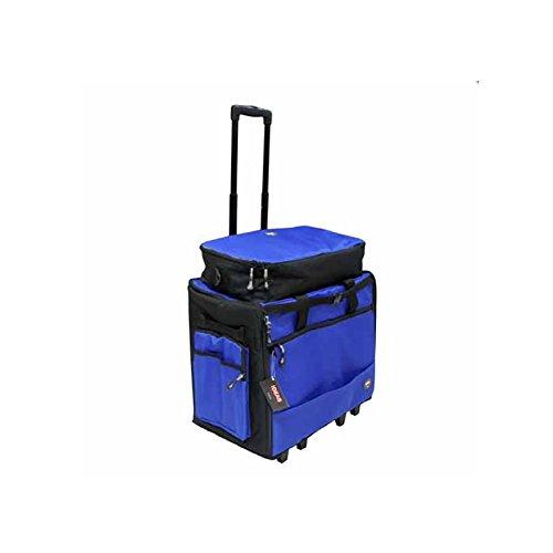 Trolley-koffer voor middelgrote en grote naaimachine, met tas voor stof en accessoires en tas voor snijmat
