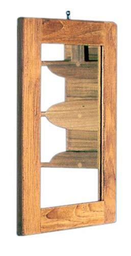 Teak frame x spiegel 275x375mm