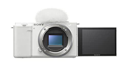 Sony Alpha ZV-E10 - APS-C Interchangeable Lens Mirrorless Vlog Camera - White