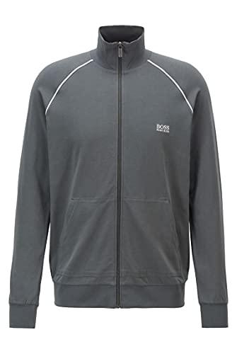 BOSS Mix&Match Jacket Z Chaqueta con Cremallera, Dark Green308, S para Hombre