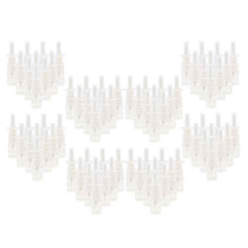 VANKOA 80 x 5ml Flacons Vide de Pulvérisation Nasale Pompe Vaporisateur Flacons Conteneurs pour Maquillage Eau Parfums