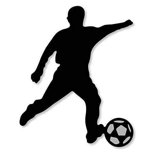 FEWIHIWEAS Metallschneidwerkzeuge Männer Spielen Fußball 2021 New Crafts Schablone für Papier- / Fotokarten g Prägestempel-Standard