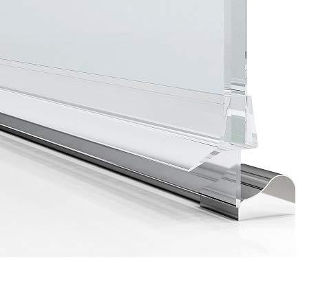 2x80 cm 2Stk Duschkabinen, Duschdichtung Ersatzdichtung, wasserdichteAbdeckkapsel, Überlaufsicherung, duschandDichtung (für Glasdicke 6mm)