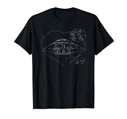 Bob Lazar UFO bosquejo Area 51 S-4 Camiseta