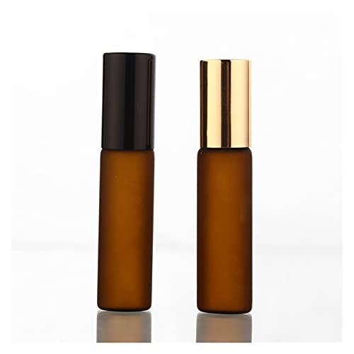 JSJJAWS Botella contenedor 50 unids/Lote 5 ml Rollo de Cristal de Perfume...
