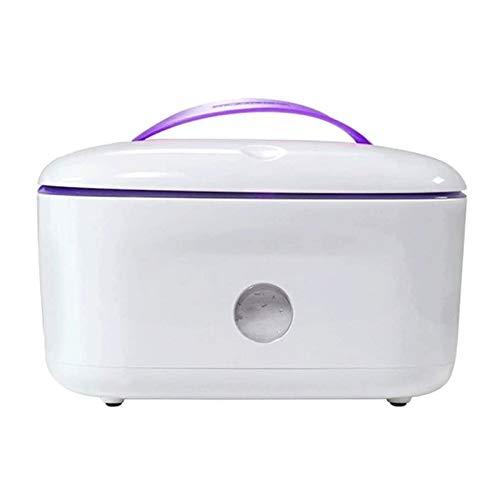 Adesign Limpie más cálido y el Titular del bebé toallitas húmedas dispensador, Baby Wipes Calentador, del hogar portátil Toallitas Calefacción Caja de Aislamiento de contenedores (Color : Purple)