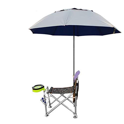 QYQS Chaise de pêche Tabouret de pêche Chaise extérieure multifonctionnelle Pliante, matériel de pêche matériel de pêche,B
