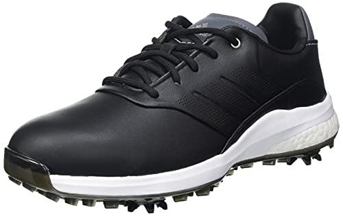 adidas Performance Classic, Scarpe da Golf Donna, Nero Argento Cielo, 40 EU