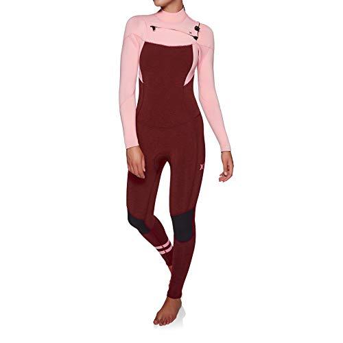 Hurley W Advantage Plus 4/3 Mm Fullsuit, Wetsuit Women's, Storm Pink Heather, 8
