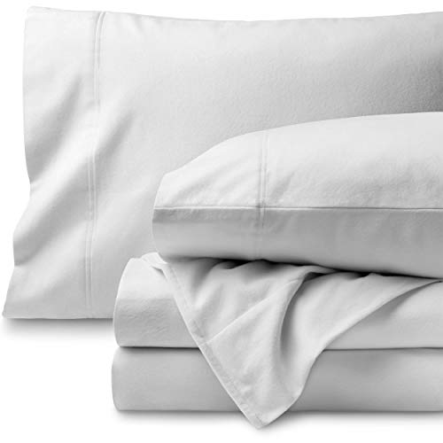Bare Home Flannel Sheet Set 100% Cotton
