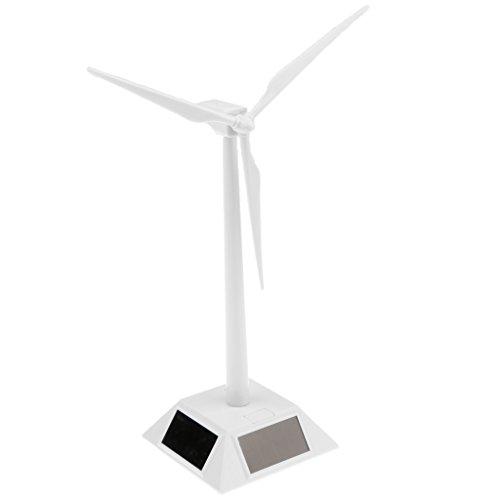 MagiDeal DIY Solarbetriebene Windmühlen Windräder Modell Kinder Wissenschaft Spielzeug Desktop Ornament