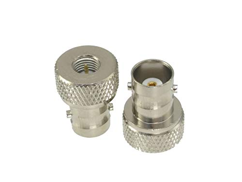 EWQK 1pce Adapter SMA To F TV/BNC/N/TNC/UHF PL259 SO239 Male Plug Female Jack RF Coaxial Connector for Satellite TV (Color : Type 8 1pcs)
