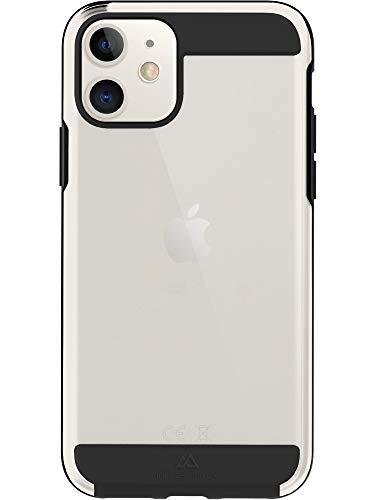 Black Rock - Hülle Air Robust Hülle passend für Apple iPhone 11   Handyhülle, Transparent, Durchsichtig, Dünn (Schwarz)