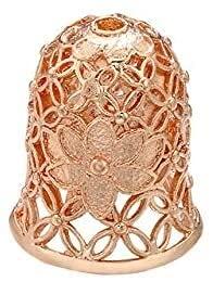 LiuliuBull 12x14.5mm Perlas exquisitas Cap y borlas para Las Mujeres Pendientes Pendientes Accesorios de joyería Haciendo hallazgos Modelo Gorras de Cuentas (Color : Rose Gold)