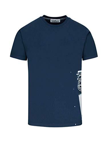 Luxury Fashion | Stone Island Heren 72152NS83V0028 Donkerblauw Katoen T-shirts | Lente-zomer 20