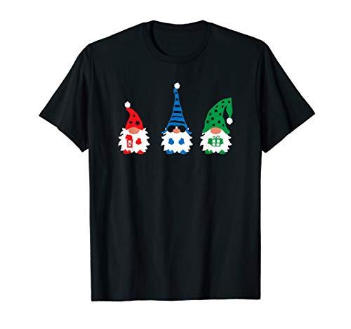 Gartenzwerg Weihnachtsmann Weihnachten T-Shirt