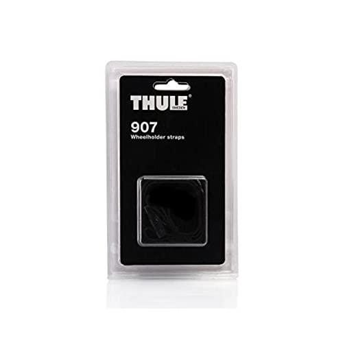 Thule 907 2 Cinghietti per Portabici, Set di 2
