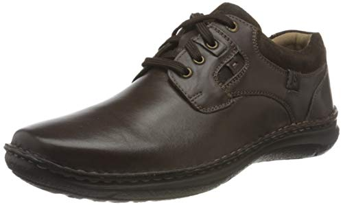 Josef Seibel Hombre Zapatos con Cordones Anvers 36, de Caballero Calzado cómodo,Ligero,Flexible,Rango...