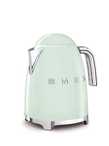 SMEG Bollitore Elettrico KLF03PGEU, 7 Cups, Verde Pastello