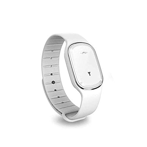 MEETGG Outdoor Mosquito Repellent Intelligent Mosquito Repellent Bracelet Ultrasonic Electronic Anti-Mosquito Wristband Child Pregnant Adult Silicone Waterproof Watch