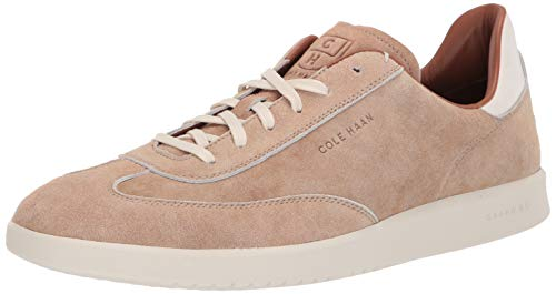 Price comparison product image Cole Haan Men's Grandpro Turf Sneaker,  Dusty Pink Suede,  12 W US