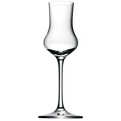 WMF easy Plus Obstbrandkelch, Kristallglas, 100 ml, spülmaschinengeeignet, transparent