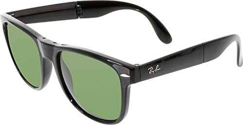 Ray-BanRB4105 - RB4105 Mujer Hombre , negro (Negro/Verde cristal), 54 MM