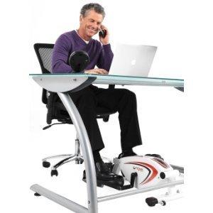 FitDesk フィットデスク アンダーデスクサイクル (ジャパンモデル)  膝がデスクに当たらない楕円運動