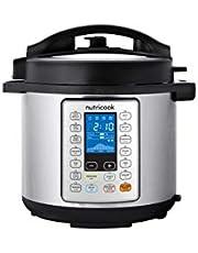 Nutricook electric rice cooker, 6 liters, 1000 watt - NC-SPEK6