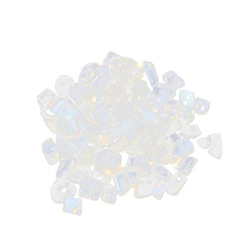 20g Natürliche Edelsteine Lose Perlen Space Perlen für DIY Schmucksache Schmuckherstellung - 4# Natürliche Opal