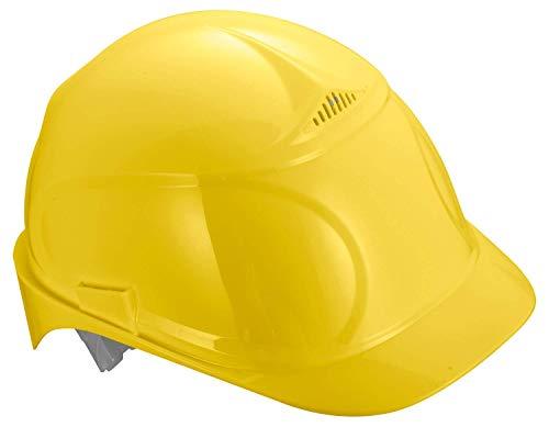 Uvex Airwing B Schutzhelm - Belüfteter Arbeitshelm für die Baustelle - Gelb Gelb