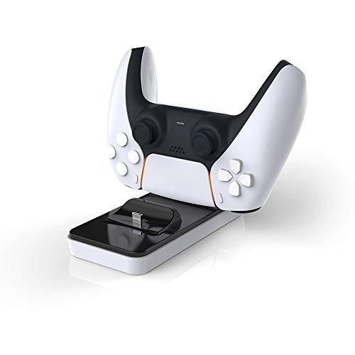 LINANNAN Nueva PS5 Producto del Cargador, el Cargador de Controlador de Puerta 5 Playstation con Dos Cargadores Asientos Juego Controlador de Carga para Aviones, SP5 SP5, C-Tipo de Carga