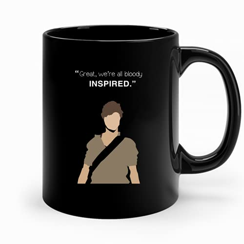 Great We Re All Bloody Inspired Newt The Maze Runner 58 Trending Coffee Cup For Women Vintage Mug Coffee 7008
