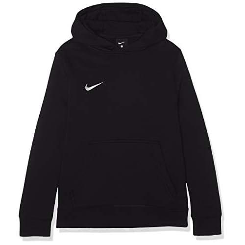 Nike Po Fleece Tm Club19, Felpa con cappuccio Unisex Bambini, Nero, Medium