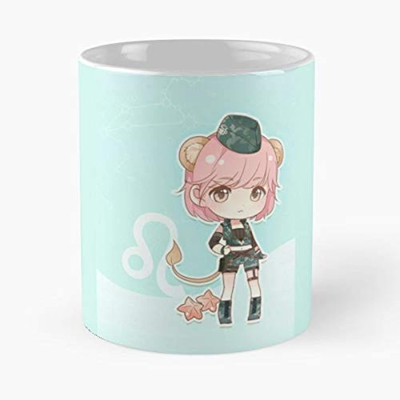 Anime Star Sign Pink Hair Girl - Funny Gifts For Men And Women Gift Coffee Mug Tea Cup White 11 Oz The Best Gift Holidays.