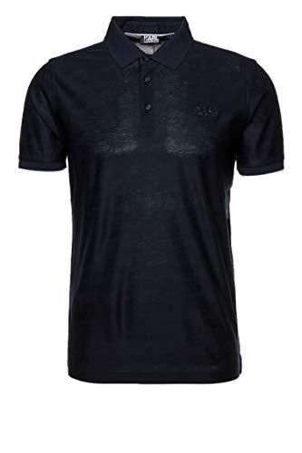 Karl Lagerfeld Herren Poloshirt Blau L
