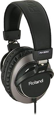 Roland Rh-300 Stereo Headphones - Premium Closed-Back Studio Headphones for Pro Level Monitoring from Roland