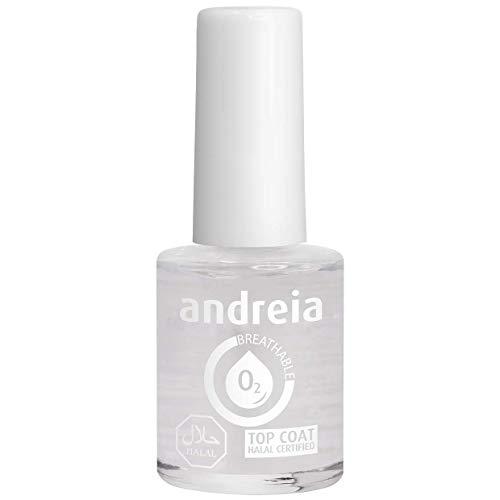Andreia Halal Atmungsaktiver Decklack - Wasserdurchlässig - Schattierungen von klarem | 10.5 ml