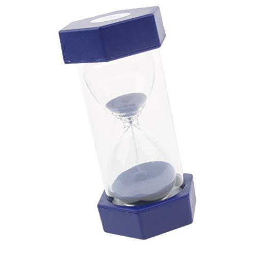 Milageto Temporizador De Arena De Plástico Duradero 5 10 20 30 Verificación De Tiempo Mínimo, Suave - 1