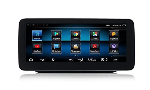 ZBHWYD Reemplazo para Mercedes-Benz B-Class W245 246 Modificado Android Centro de Pantalla Grande Máquina de navegación 8 + 128G, Radio estéreo de Coche GPS (Size : N1)