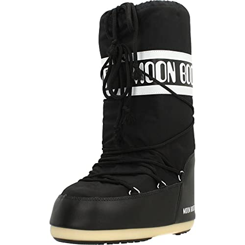 Moon Boot Nylon, Botas de Nieve Unisex Adulto, Negro (Black 001), 39-41 EU
