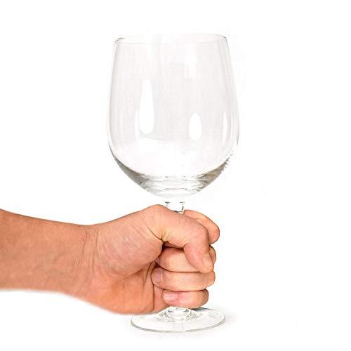 XXL Weinglas mit 750ml Fassungsvermögen - Rotweinglas Weißweinglas