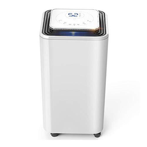 Deshumidificador Deshumidificadores ultra silenciosos de 2000 ml con secador de aire portátil de apagado automático para sótanos, dormitorios, baños, casas rodantes y oficinas