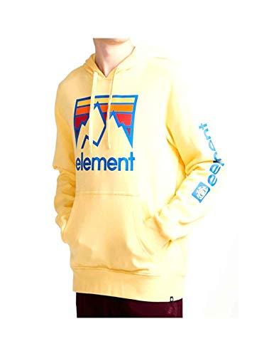 Element Sudadera Joint HO Popcorn Hombre L Amarillo