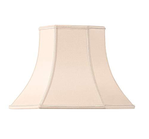 Lampenschirm, Pagoform, Schnittmuster, 50 x 26, 5 x 36, 5 cm, Beige/Rosa