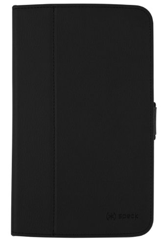 Speck FitFolio Tablet Case Cover with Built-In Stand and Closing Tab for Samsung Galaxy Tab 3 (8.0 Inch) - Black