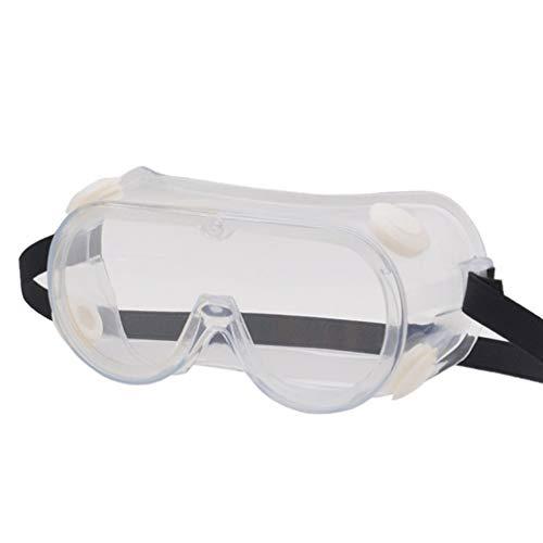 Arbeitsschutzbrille Sicherheitsbrille Vollsichtbrille PVC-Rahmen Schutzbrille