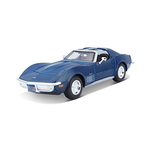 Maisto-Chevrolet Corvette '70 Azul 1/24 31202B (31202)